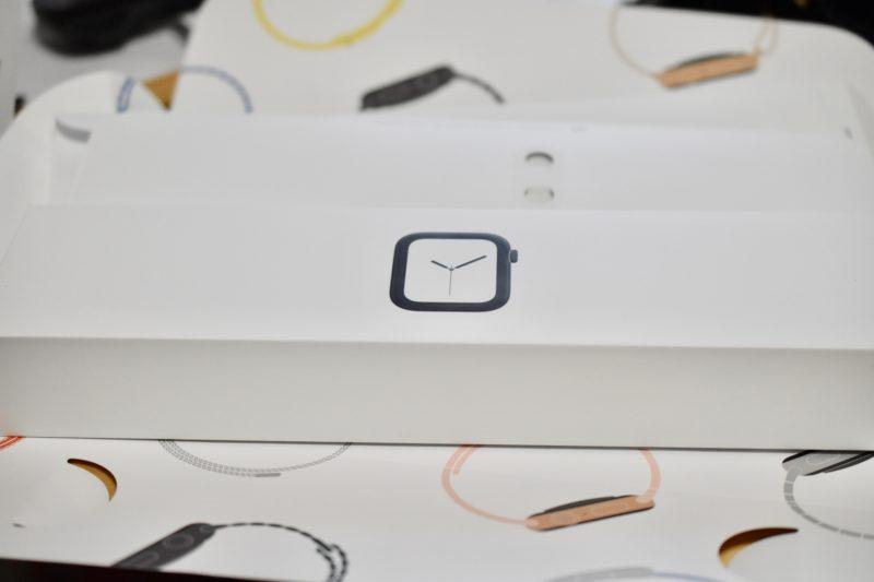 アップルウォッチの箱