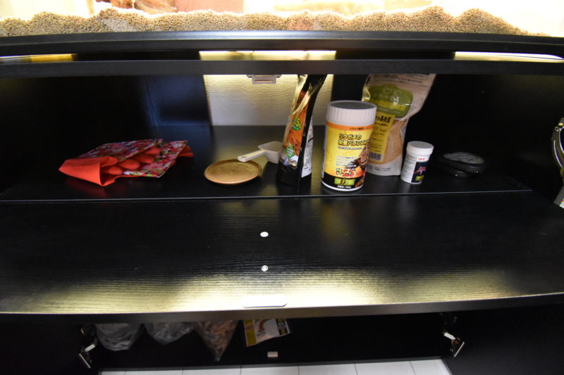 ジェックス エキゾテラ グラステラリウムキャビネット900 爬虫類ケージ専用キャビネット